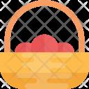 Tangerine Basket Oranges Icon