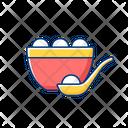 Tangyuan Chinese Bowl Icon