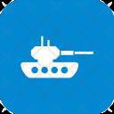Tank Army Military Icon