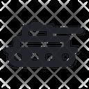 Tank Vehicle Iron Icon