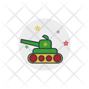 Tank Vehicle Army Icon