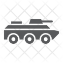 Amphibious Vehicle Transport Icon