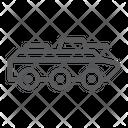 Amphibious Vehicle Transport Icon