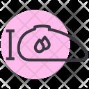 Tank Capacity Fuel Icon