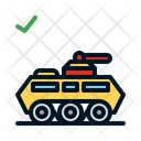 Tank Weapon Military Icon