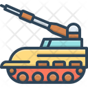 Tank Army Technology Icon