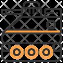 Tank Auto Automobile Icon