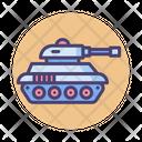 Tank Military Vehicle Icon