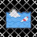 Tank Barrel Plastic Icon