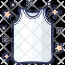 Tank Top Sleeveless Shirt Undergarment Icon