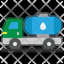 Tank Truck Fuel Icon