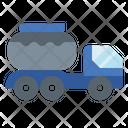 Tank Truck Liquid Icon