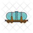 Railway Tanker Car Icon