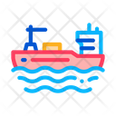 Ship Ocean Boat Icon