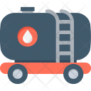Tanker Water Oil Icon