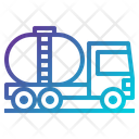 Transport Vehicle Tanker Truck Icon