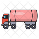 Tanker Oil Vehicle Icon