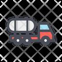 Tanker Truck Liuiq Transportation Transport Truck Icon