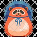 Tanuki Animal Mammal Icon