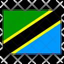 Tanzania Flag Flags Icon