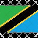 Flag Country Tanzania Icon