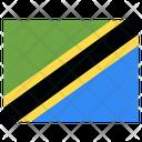 Tanzania Country National Icon