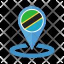 Tanzania Flag Icon