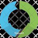 Tanzania Country Flag Icon