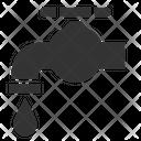 Tap Valve Faucet Icon