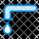 Tap Water Aqua Icon