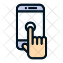 Tap Touch Press Icon