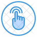 Tap Finger Gesture Icon