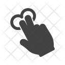 Tap Two Fingers Icon