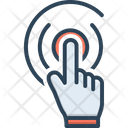 Tap Finger Hand Icon