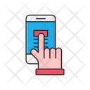 Tap Mobile Click Icon