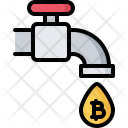 Tap Water Bitcoin Icon