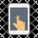 Tap Click Mobile Icon