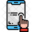 Tap Click Touch Gesture Icon
