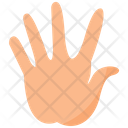 Tap Hold Gesture Symbol Of One Finger Hand Gesture Icon