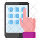 Tap Screen Hand Gesture Finger Tap Icon