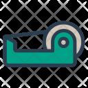 Tape Machine Cutter Icon