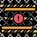 Tape Line Crime Icon