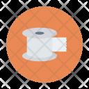 Tape Measuring Reel Icon