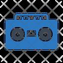 Tape Music Audio Icon