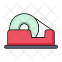 Tape Cutter Stationary Icon