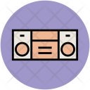 Tape Recorder Cassette Icon