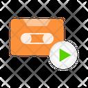 Tape Cassette Turn Icon
