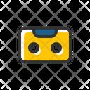 Tape Cassette Media Icon