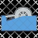 Tape Dispenser Adhesive Icon