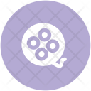 Tape Reel Camera Icon